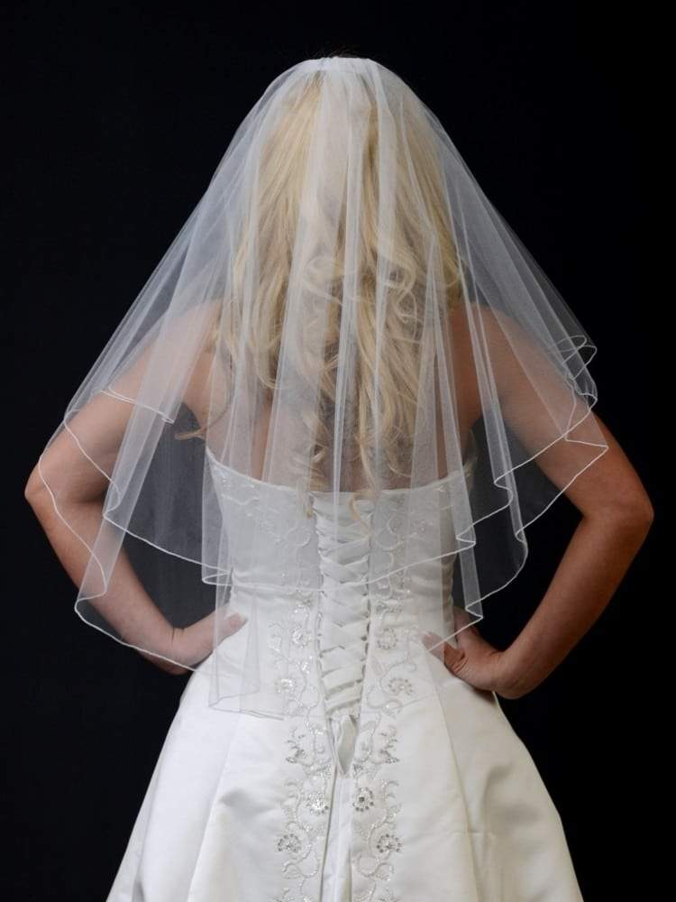 54 wide veil