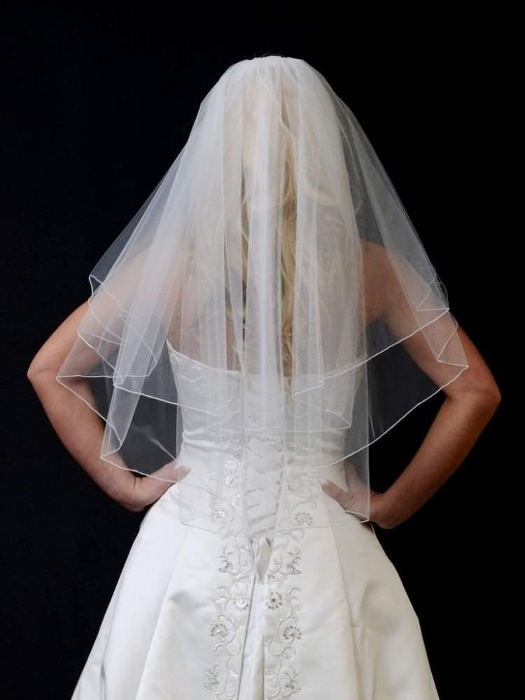 72 wide veil