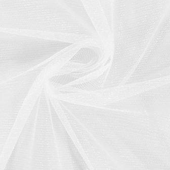 Diamond White Shimmer tulle