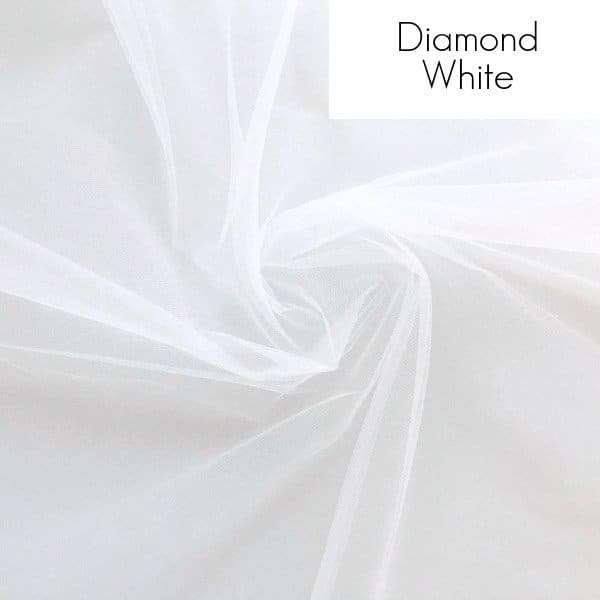 Veil fabric samples - Diamond White