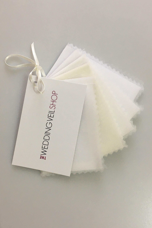 Veil fabric sample pack - lighter colours