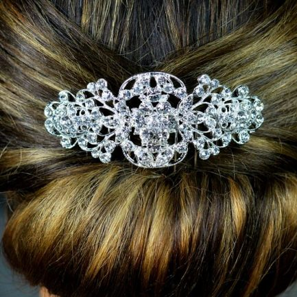 TLH3013 – diamante bridal hair comb