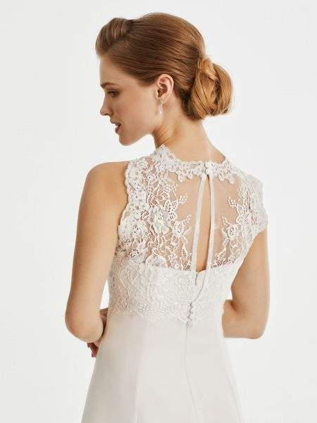 BB247 lace bridal jacket