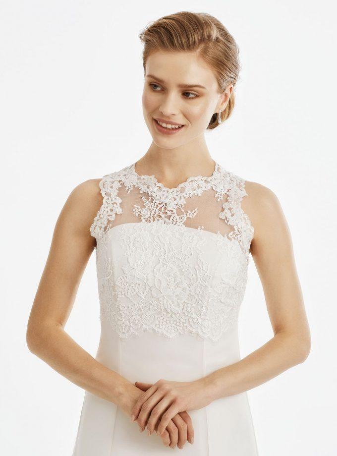 BB247 lace bridal jacket