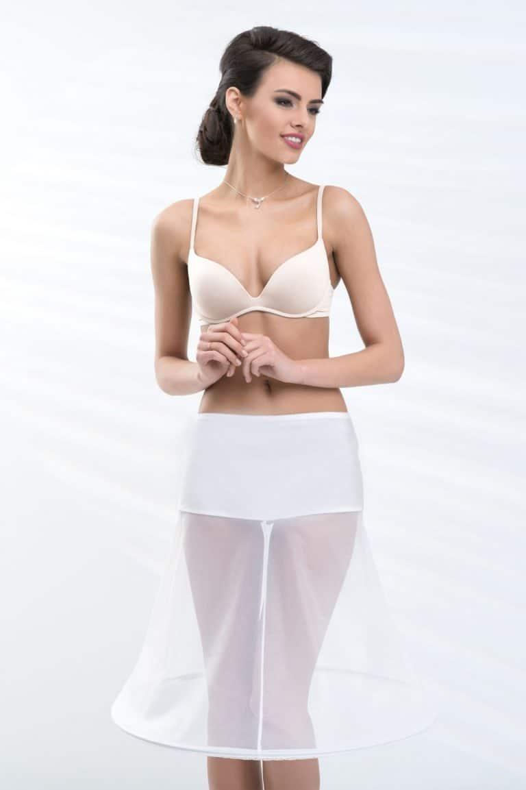 short bridal underskirt