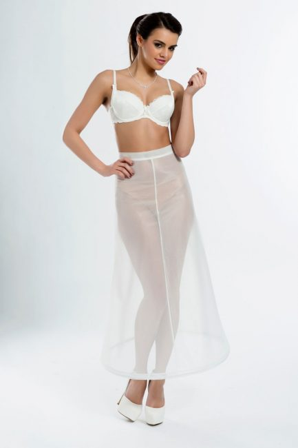 BP4-190 – Tea length bridal underskirt with one 190cm (75inch) hoop