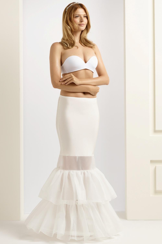 H8-190 BP8-190 fishtail mermaid wedding underskirt bridal petticoat (1)