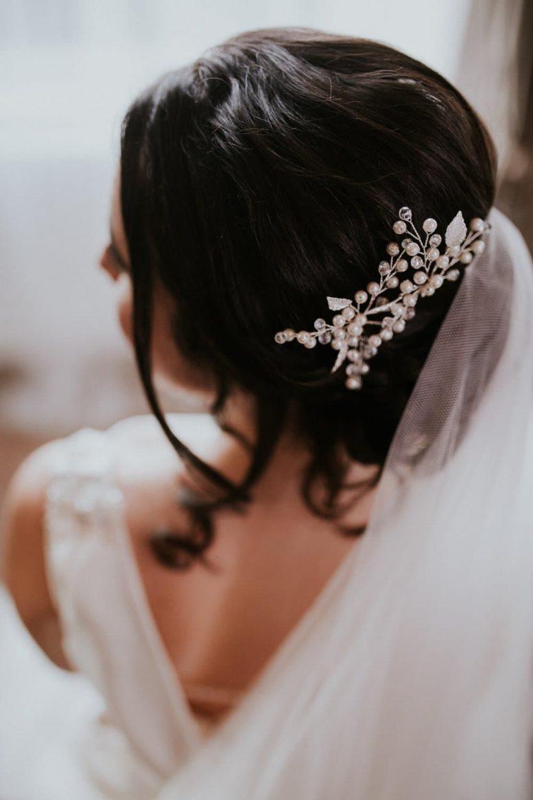 HP4522 bridal hair pin