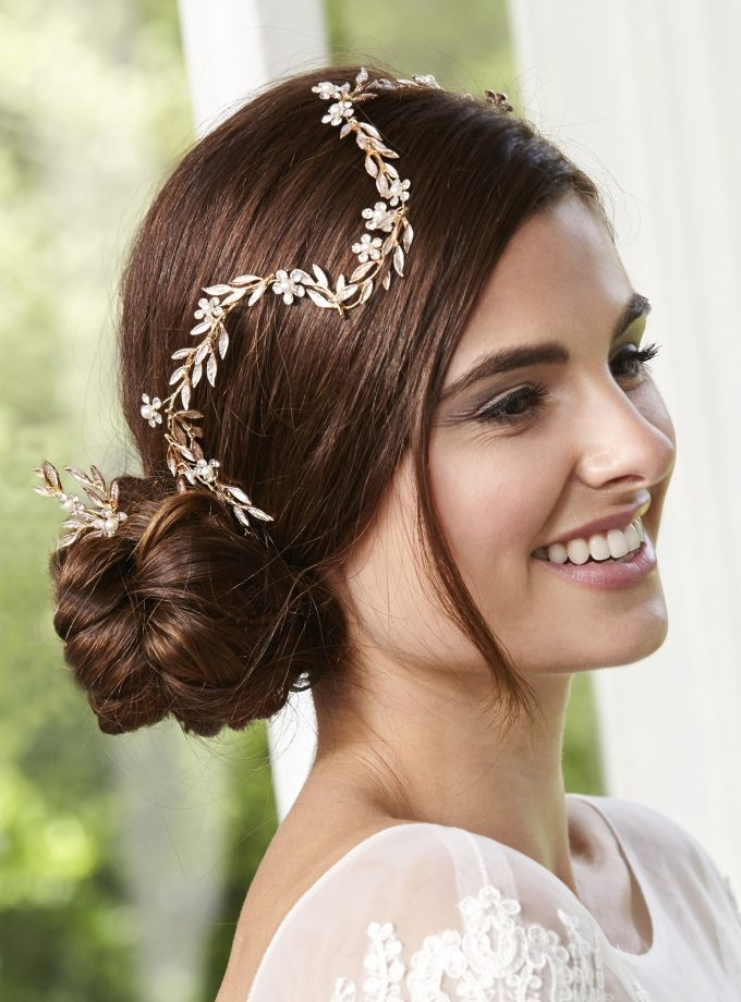 LP710 bridal hair vine