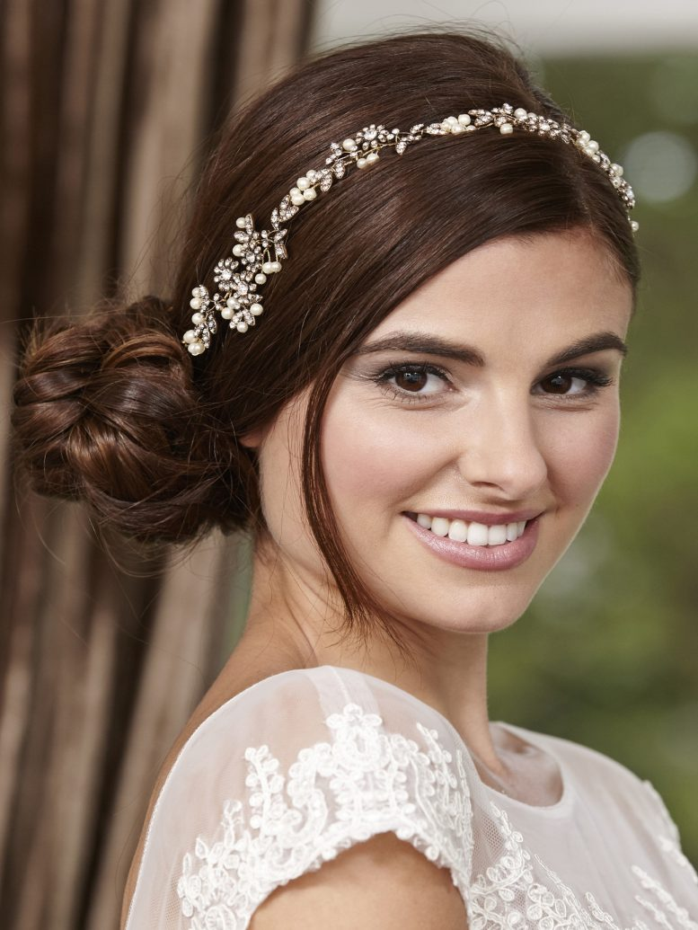 LP711 bridal hair vine