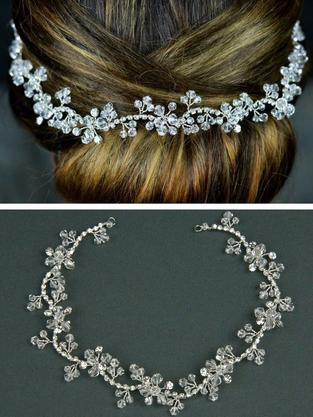 TLH3064 bridal hair vine