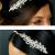 TLT4552 – clustered crystal & diamante side headband