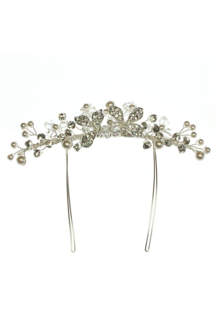 ar552 bridal hair comb for veils