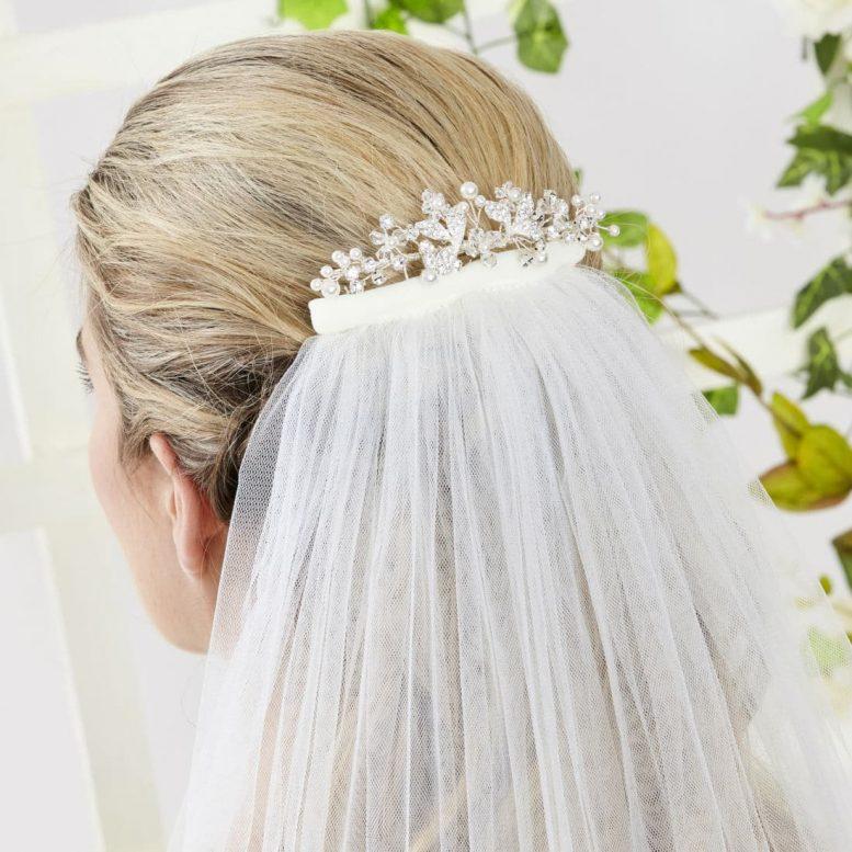 ar552 bridal hair comb