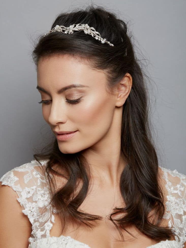 aw1169 bridal tiara