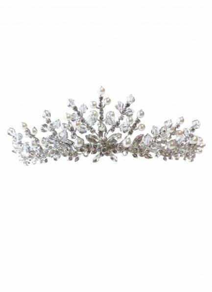 aw1290 bridal tiara