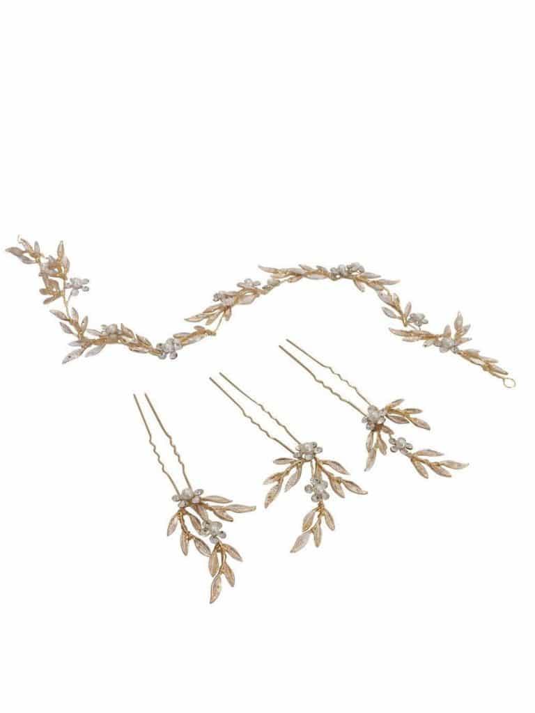 LP710 bridal hair vine