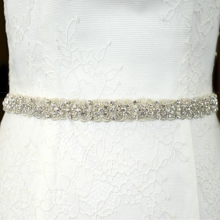 TLBB1030 narrow bridal belt