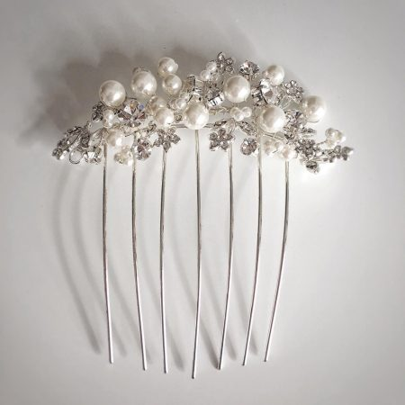 tlh3045 bridal hair comb