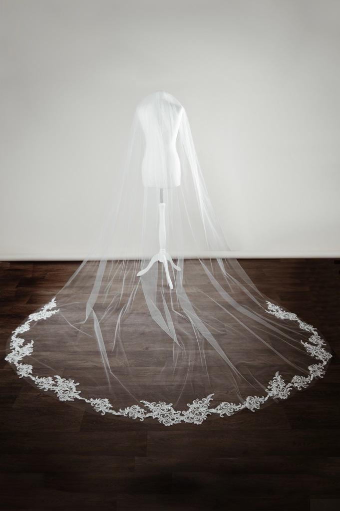 Custom veil completed