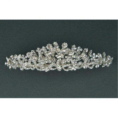 SALE! TLT4611 – Swarovski Stones & Diamante Tiara