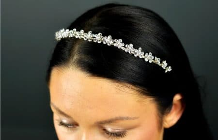 SALE! TLT4655 – narrow diamante headband