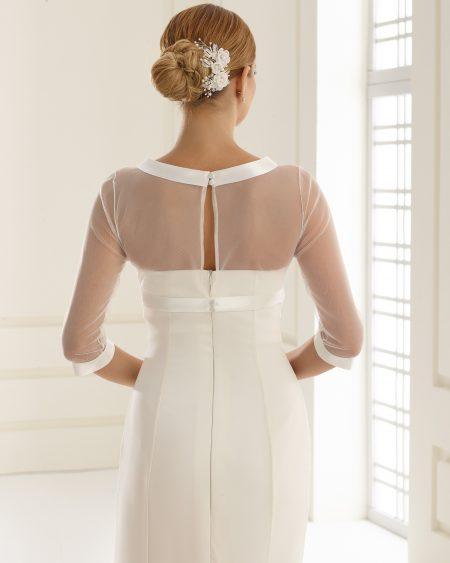 E168 bridal bolero